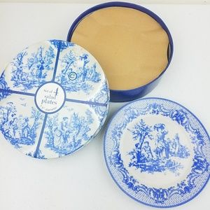 Home Essential & Beyond Blue Toil Plate Collection